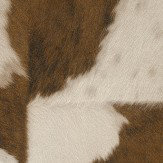 Albany Cow Hide Brown Wallpaper