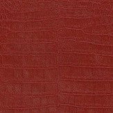 Albany Crocodile Pattern Red Wallpaper