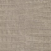 Albany Crocodile Pattern Taupe Wallpaper