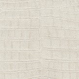 Albany Crocodile Pattern Metallic Ivory Wallpaper