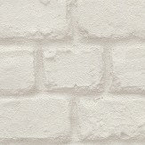 Albany Metallic Brick Pearl Wallpaper