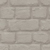 Albany Metallic Brick Taupe Wallpaper