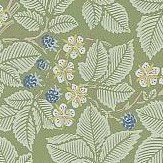Morris Bramble Thyme Wallpaper