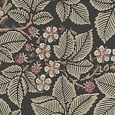 Morris Bramble Charcoal Wallpaper