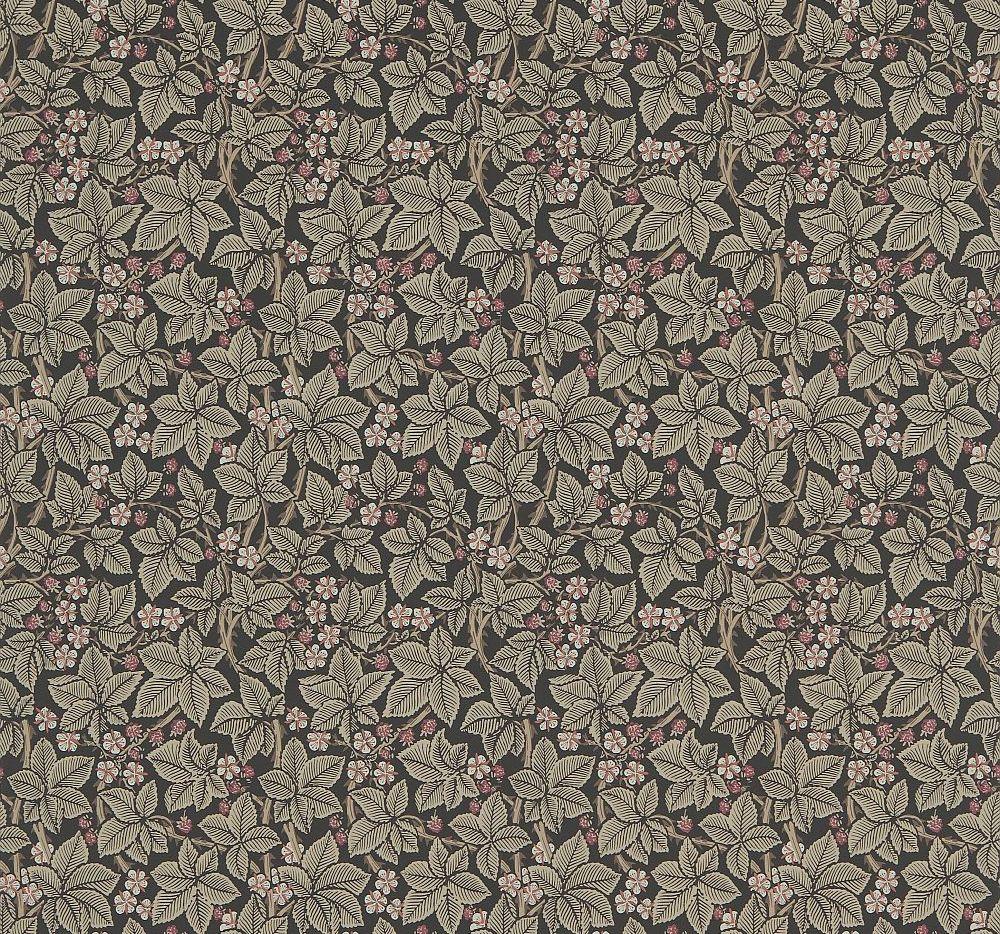 Morris Bramble Charcoal Wallpaper - Product code: 214699