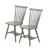 Brewers Home Rib Chairs Shale Dining Chair