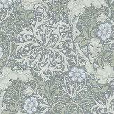 Morris Morris Seaweed Silver / Ecru Wallpaper - Product code: 214715