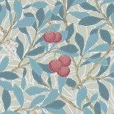 Morris Arbutus Woad / Russet Wallpaper - Product code: 214718