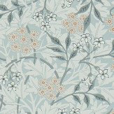 Morris Jasmine Silver / Charcoal Wallpaper - Product code: 214726