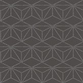 Caselio Diamond Charcoal Wallpaper