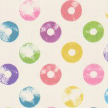 Caselio Circle Multi-coloured Wallpaper