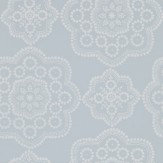 Harlequin Odetta Powder Blue Wallpaper