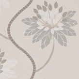Harlequin Eloise Willow and Linen Wallpaper