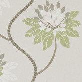 Harlequin Eloise Avacado and Warm Grey Wallpaper - Product code: 111189