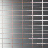 Erica Wakerly Grid  Copper Rose / White Wallpaper - Product code: Grid CCC