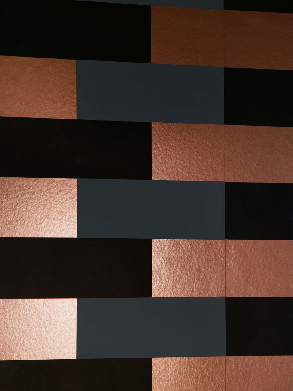 Block By Erica Wakerly Copper Burnish Grey Black