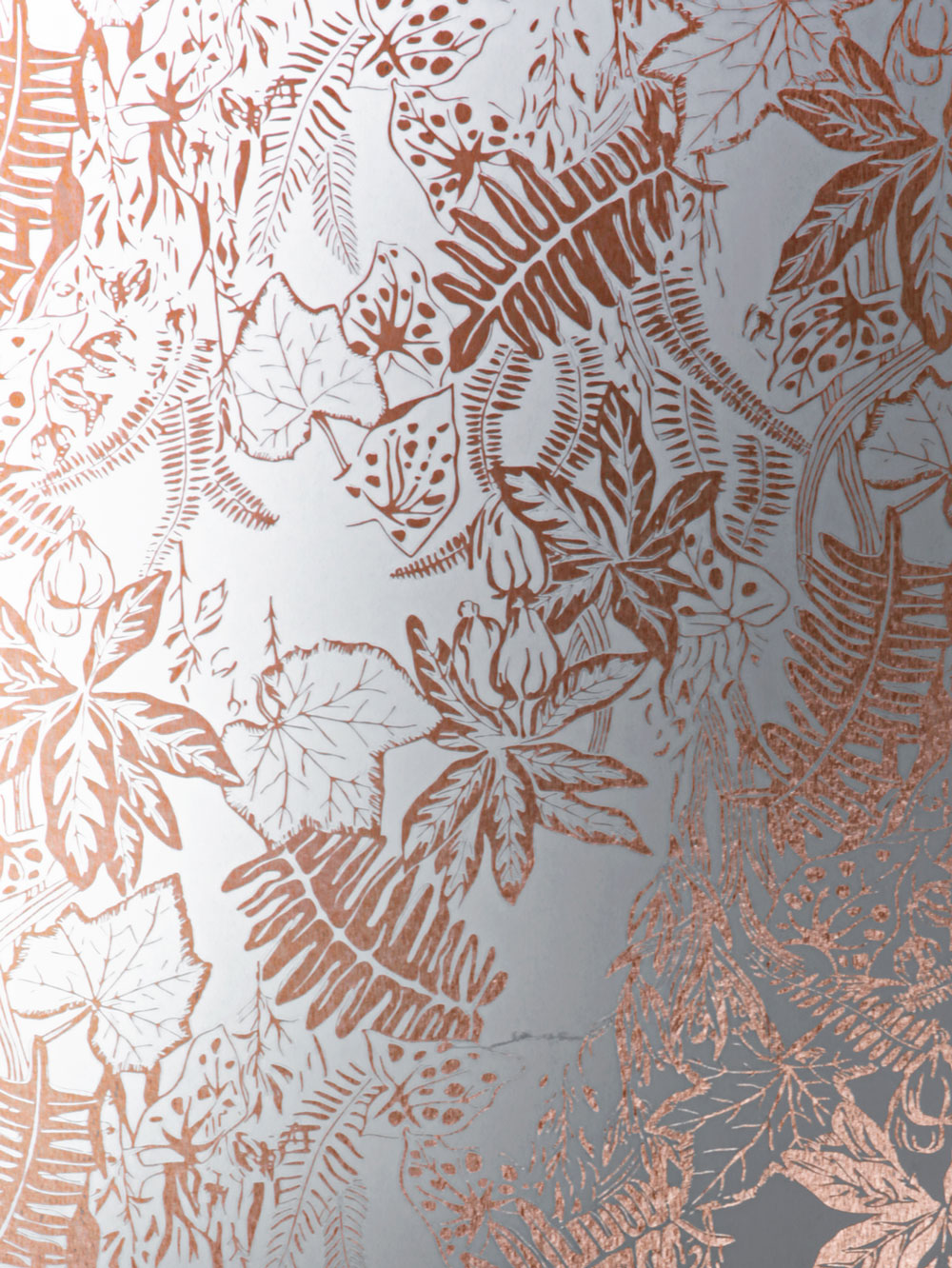 Hothouse By Erica Wakerly Copper Rose White