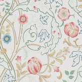 Morris Mary Isobel Pink / Ivory Wallpaper