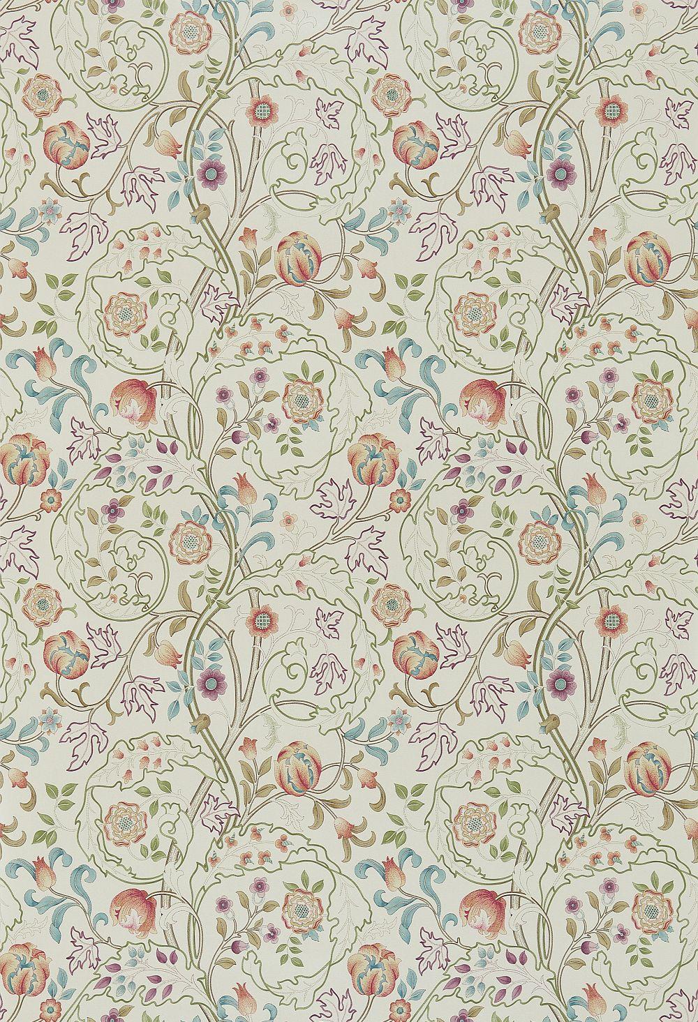 Morris Mary Isobel Rose / Artichoke Wallpaper - Product code: 214729