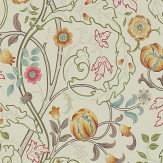 Morris Mary Isobel Russet / Taupe Wallpaper