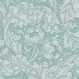 Morris Bachelors Button Blue Wallpaper