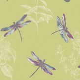 Arthouse Enchanted Wings  Citrus Wallpaper