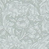 Morris Bachelors Button Silver Wallpaper