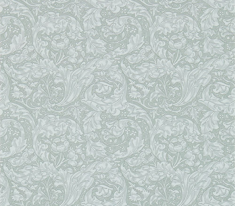 Morris Bachelors Button Silver Wallpaper - Product code: 214735