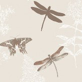 Arthouse Enchanted Wings Copper Wallpaper