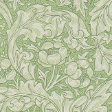 Morris Bachelors Button Thyme Wallpaper