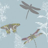 Arthouse Enchanted Wings  Teal Wallpaper
