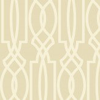 Today Interiors Horizontal Trellis Taupe Wallpaper
