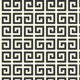 Today Interiors Tile Effect Black / White Wallpaper