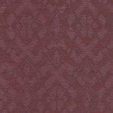 Today Interiors Etched Flower Burgundy Wallpaper