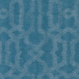 Today Interiors Ornament Chic Teal Wallpaper