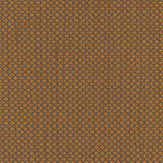 Today Interiors Refined Grid Burnt Orange Wallpaper