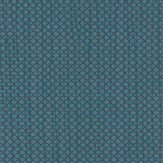 Today Interiors Refined Grid Teal Wallpaper