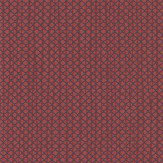 Today Interiors Refined Grid Crimson Wallpaper - Product code: 73215