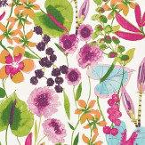 Harlequin Nalina Flamingo/Papaya/Loganberry Fabric