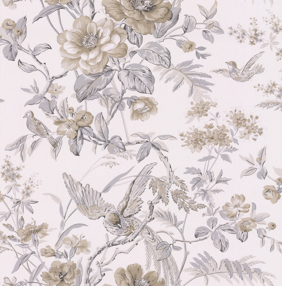 Albany Bird of Paradise Taupe Wallpaper - Product code: 21532
