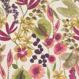 Harlequin Nalina Peach/Mango/Olive Fabric
