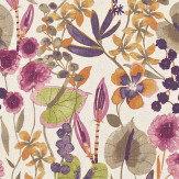 Harlequin Nalina Loganberry/Raspberry/Apricot Fabric