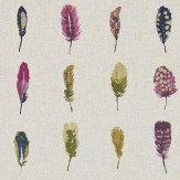 Harlequin Limosa Loganberry/Raspberry/Olive Fabric