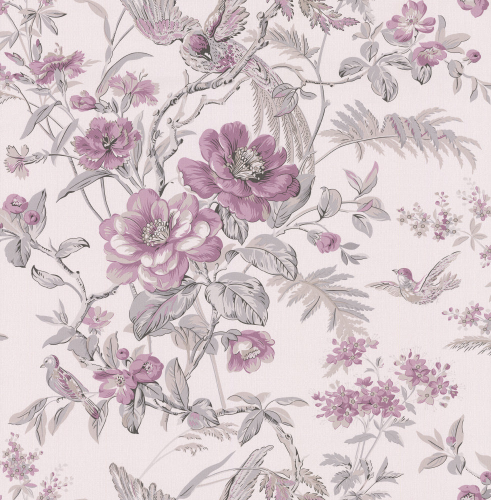 Albany Bird of Paradise Mulberry Wallpaper - Product code: 21533