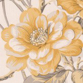 Albany Bird of Paradise Yellow Wallpaper - Product code: 21535