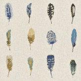 Harlequin Limosa Indigo/Mustard/Stone Fabric