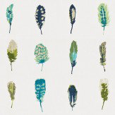 Harlequin Limosa Lagoon/Zest/Gooseberry Fabric