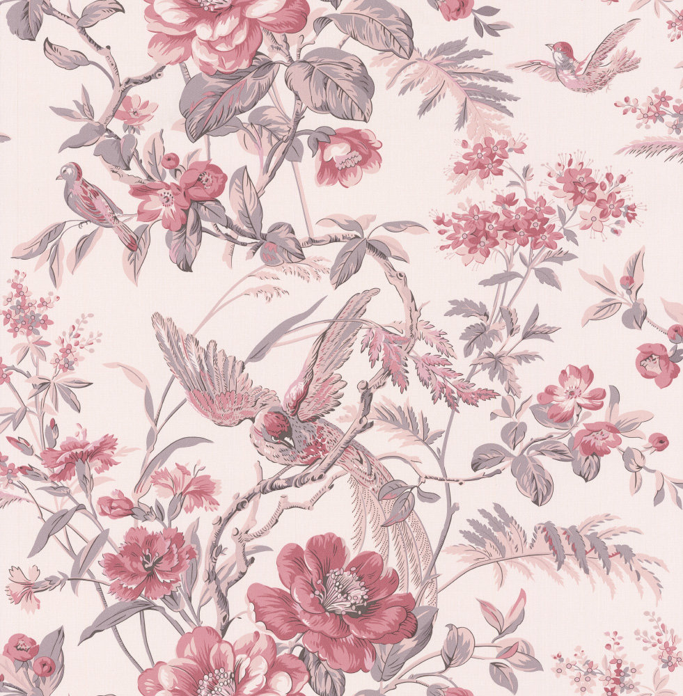 Albany Bird of Paradise Red Wallpaper - Product code: 21531