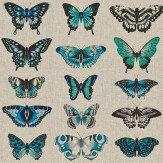 Harlequin Papilio Lagoon/Indigo/Emerald Fabric