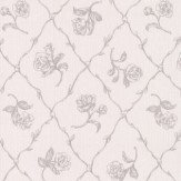 Albany Rose Trail Trellis Grey Wallpaper - Product code: 21507